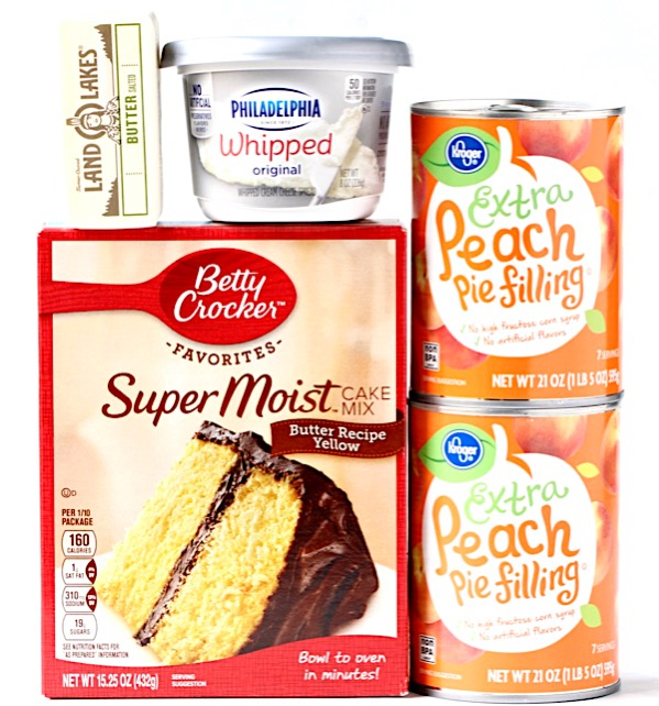 Peach Cobbler with Cake Mix Recipe