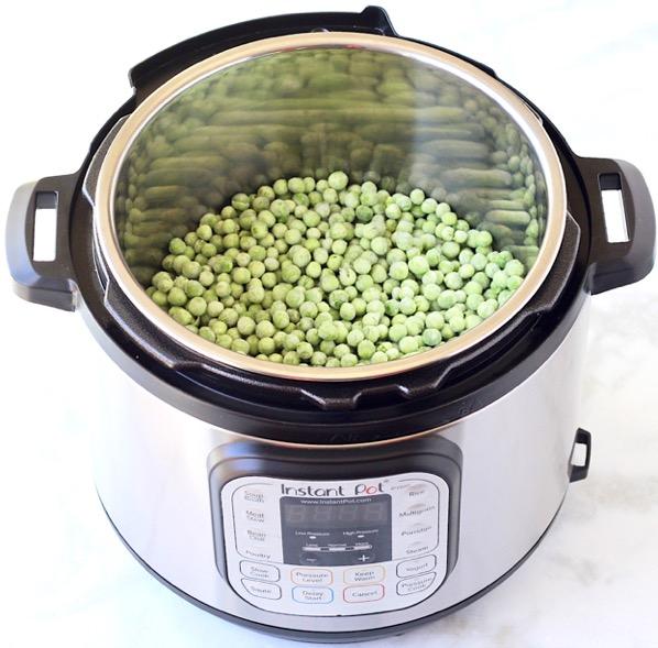 Instant Pot Baby Food Peas Recipe Easy