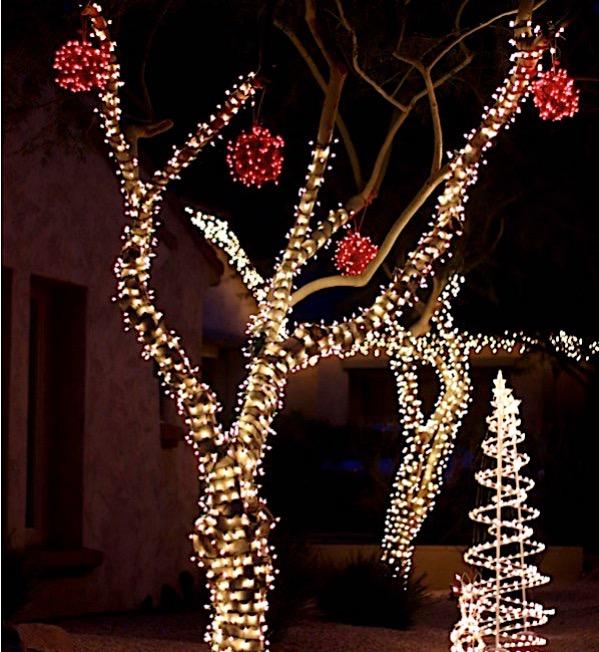 Outdoor Hanging Ball Lights
