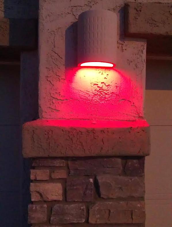 Red Christmas House Lights