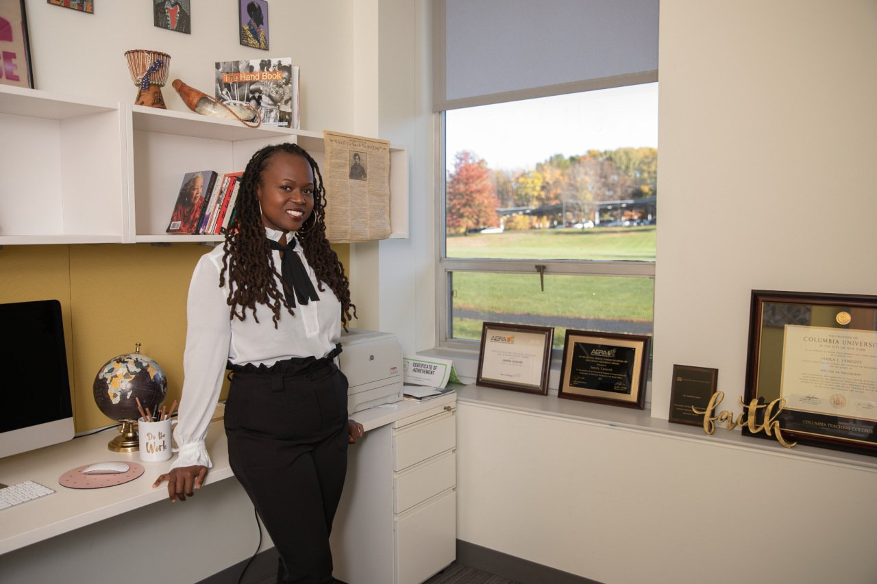 Dr. Jamila Lyiscott to visit Eckerd College in St. Pete next week