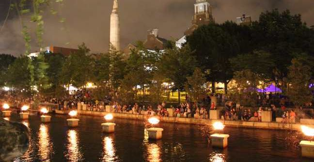 Providence RI Waterfire