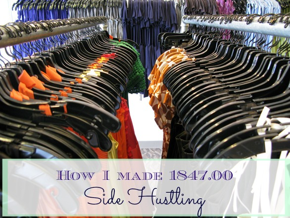 How I Made $1847.00 Side Hustling