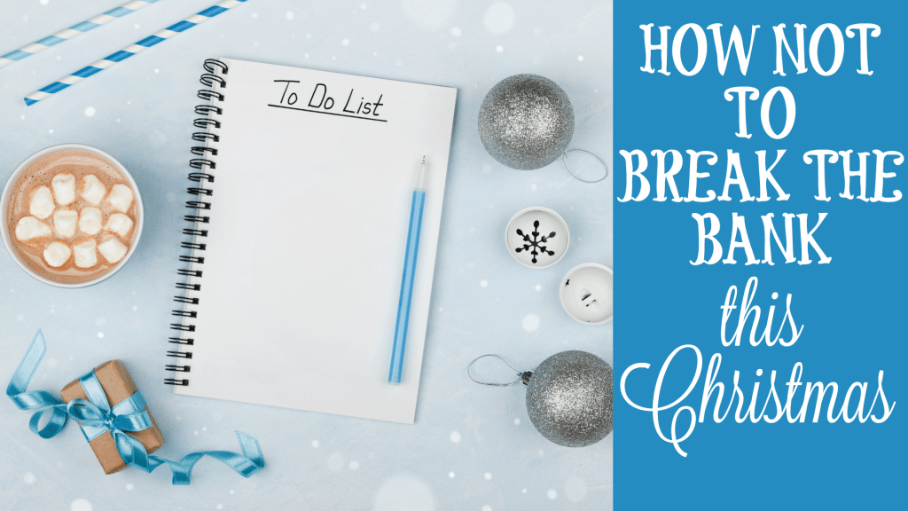 Budget and plan your way to a stress free Christmas this year by following these tips!