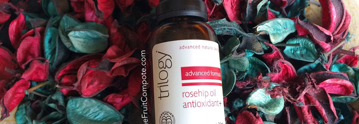 Face Oil Virgin: Trilogy Rosehip Oil Antioxidant +