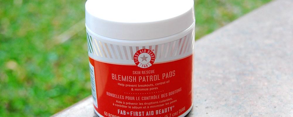 First Aid Beauty Blemish Patrol Pads – Maintenance + Quick Fix