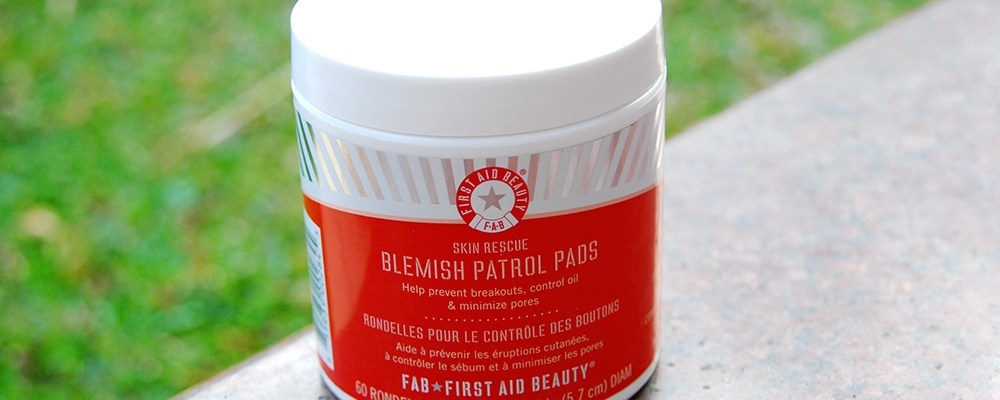 First Aid Beauty Blemish Patrol Pads – Maintenance + Quick Fix