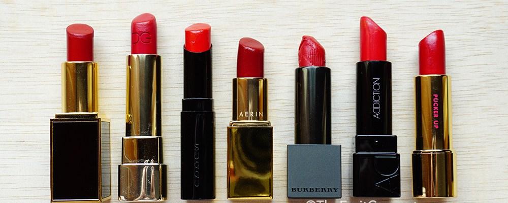7 Best Holiday Red Lipsticks 2014