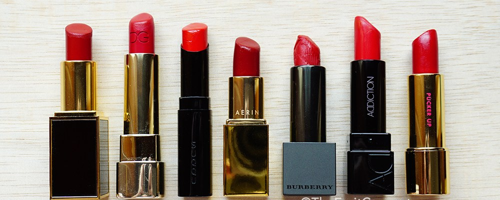 7 Best Holiday Red Lipsticks 2014