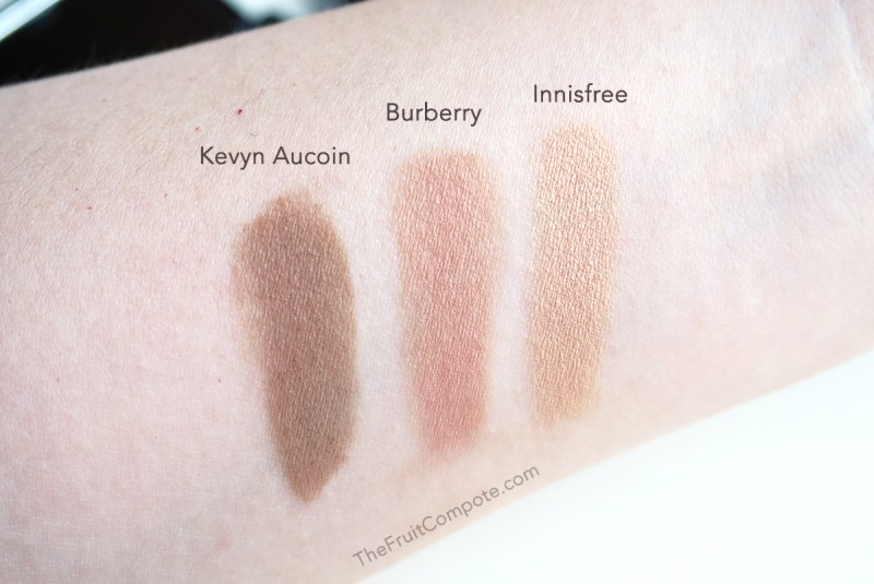 face-contour-powder-kevyn-aucoin-burberry-earthy-innisfree-mineral-shading-review-swatch-photos-3