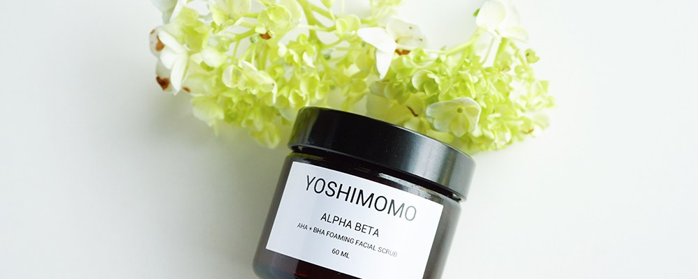 Yoshimomo Foaming Facial Scrub – A Guilty Pleasure