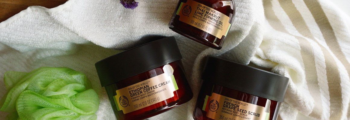 The Body Shop Spa Of The World Firming Ritual – Prepping for The Big Day