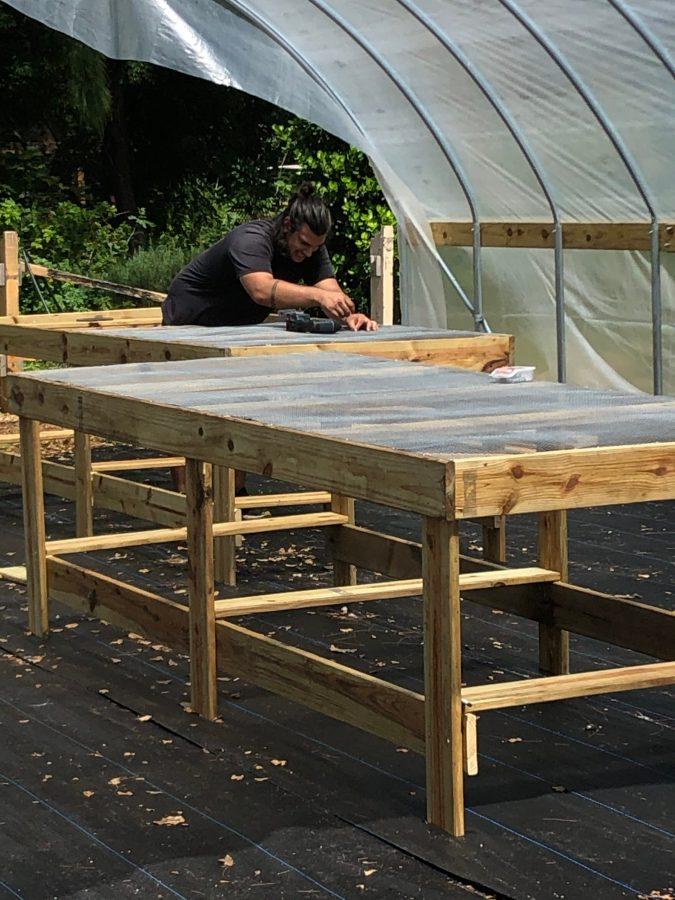building nursery tables