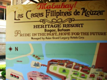 Las Casas resort map