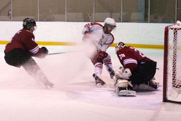 Gees skate fast and furiously on Nov. 5 game against the Paladins