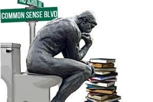 thinker - street