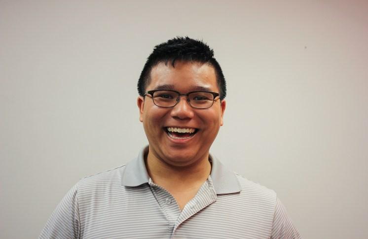 Jonathan Chin-Fook, candidate, vice-president social. Photo: Graham Robertson.