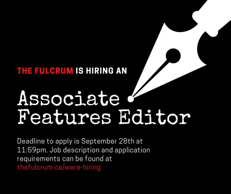 associate features editor job posting