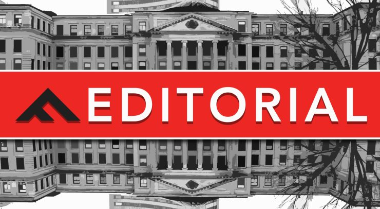 The Fulcrum's editorial banner