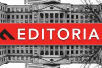 The Fulcrum's editorial sign