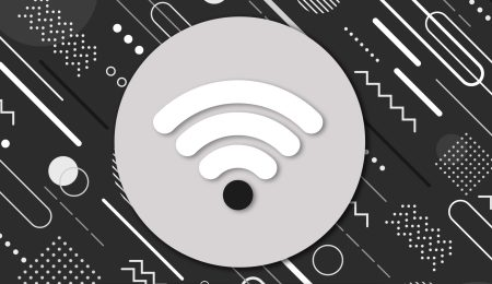 The WiFi logo with low connectivity