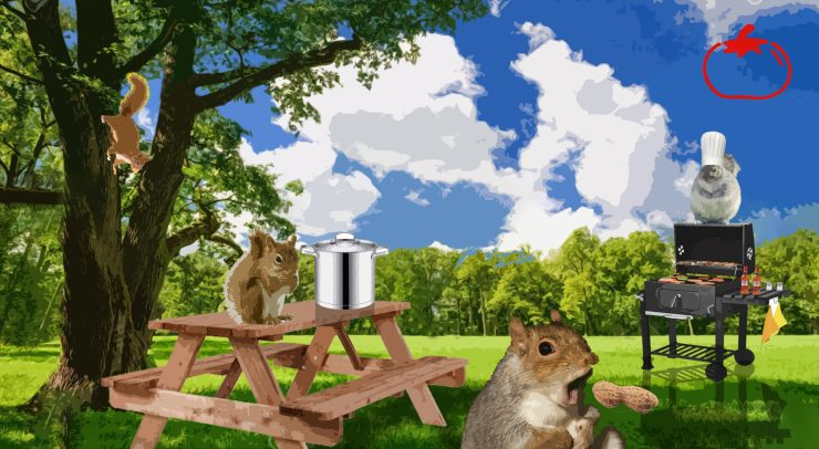 The Squirrel Awareness Month BBQ