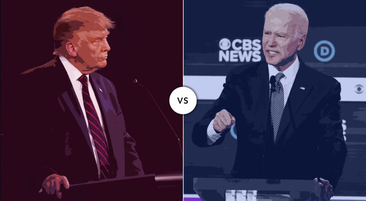 Donald Trump vs Joe Biden