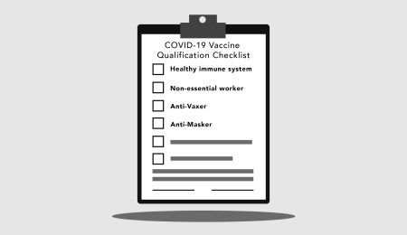 Checklist for COVID-19 vaccine