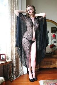French Quarter Robe by Dollhouse Bettie