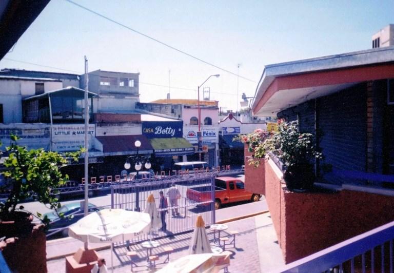 Street view of Nuevo Laredo, Mexico