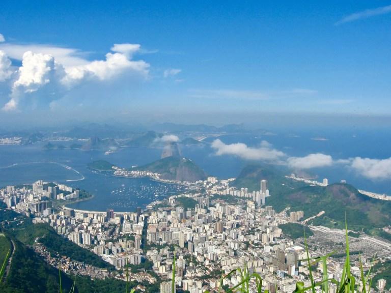 Rio de Janeiro from the Christ the Redeemer statue