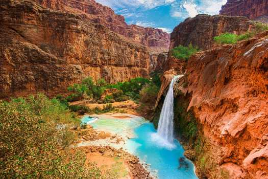 Havasu Falls and Canyon