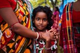 Indian girl at a festival