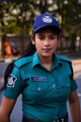 Bangladeshi Police Officer