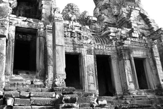 Ruins at Angkor in Cambodia