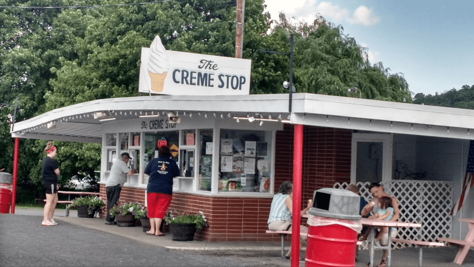 Creme Stop custard stand in rural PA