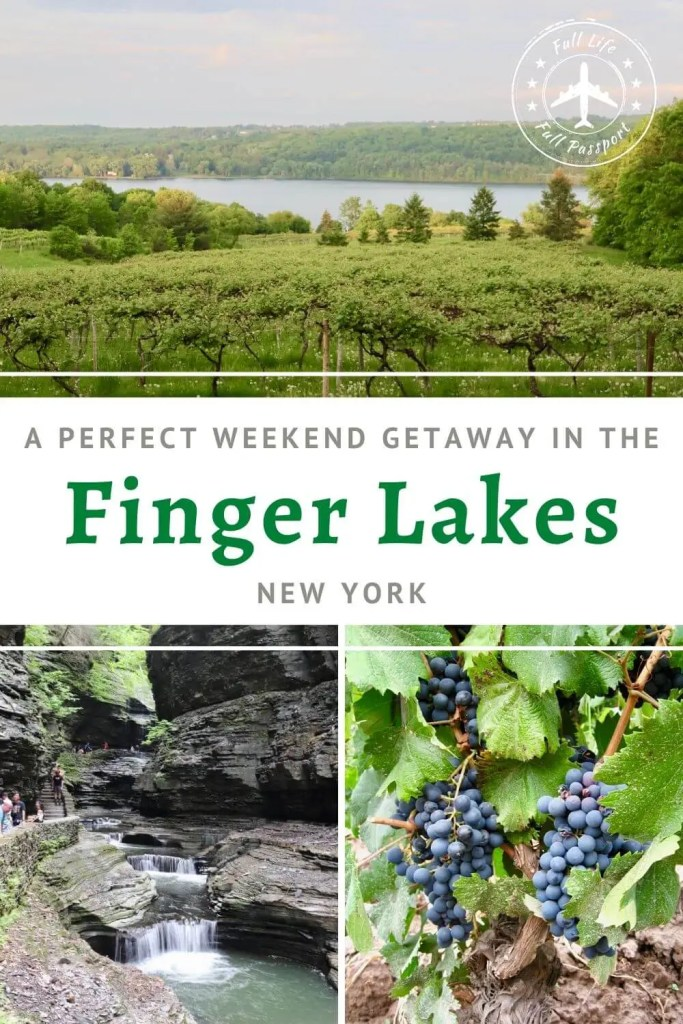 With wineries, waterfalls, state parks, and cute towns, there are plenty of things to do on a long weekend getaway in New York's Finger Lakes!