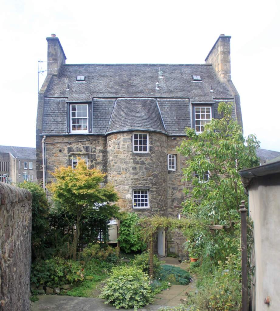 Quaint stone building that was our first home away from home on our one week in Scotland itinerary.