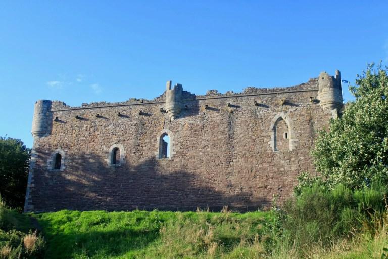 Rear wall of Doune Castle