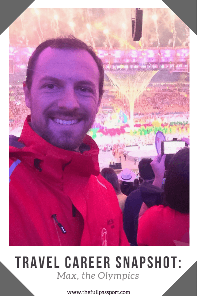 What is it like for the thousands of people who work to make the Olympics happen? Just ask Max, who has worked four Olympics - and counting!