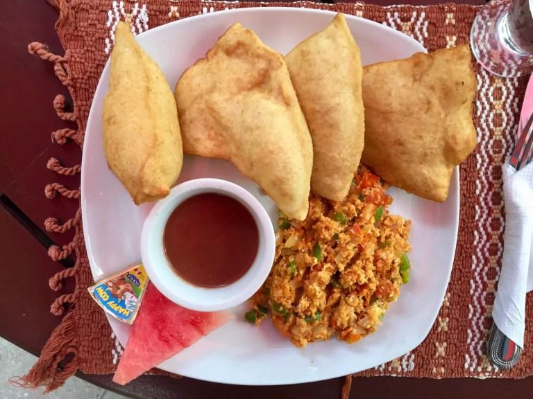 Traditional Belizean Breakfast