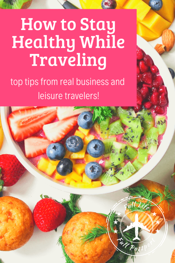 It's fine to splurge on vacation, but travel can also hurt your health. Check out these tips and wellness products to help you stay healthy while traveling.