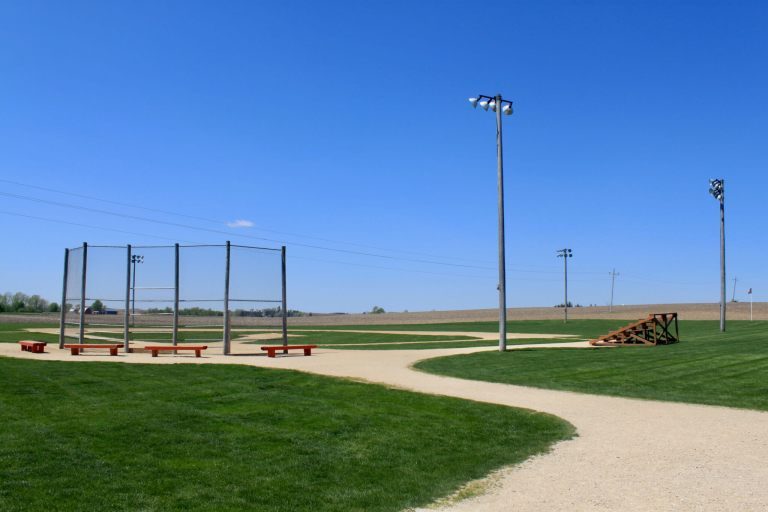 Ball field from Field of Dreams movie set