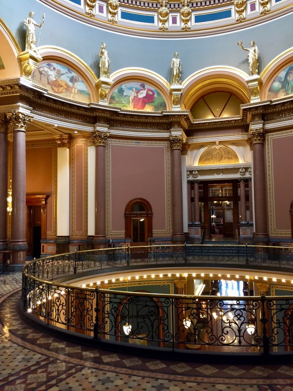 Rotunda of the Iowa Capitol Building