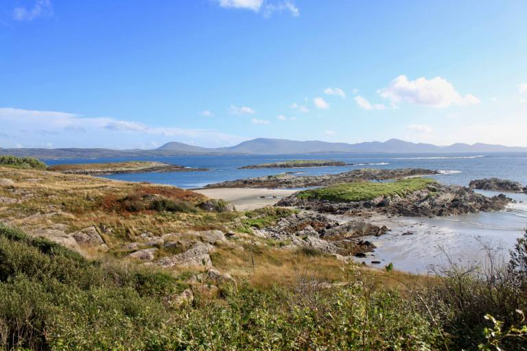 Rocky coastline of the Ring of Kerry