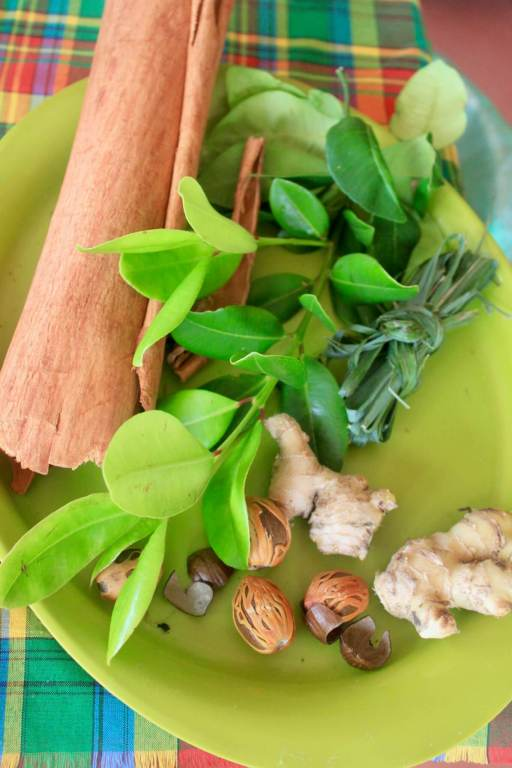 Herbs and spices for Creole cooking