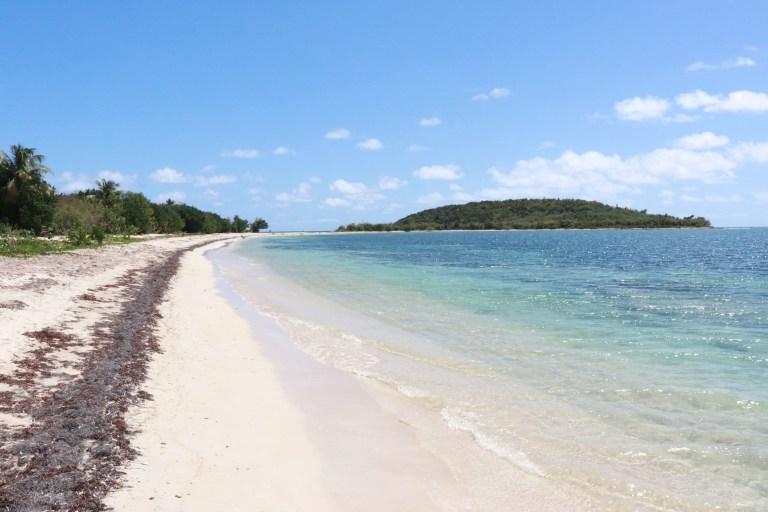 Playa Esperanza - public beach on Vieques