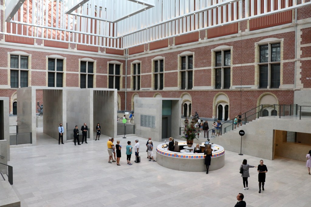 Interior of the Rijksmuseum