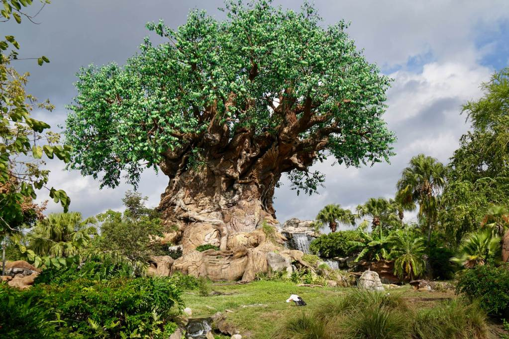 The Tree of Life is the centerpiece of Disney's Animal Kingdom