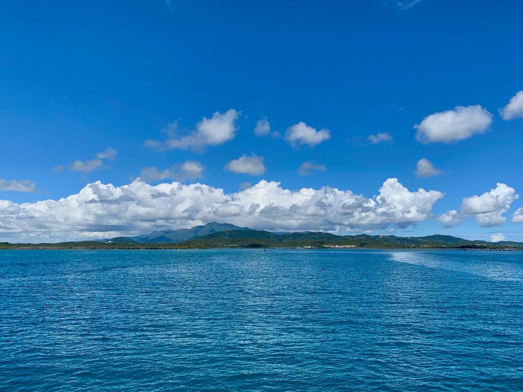 View of mainland Puerto Rico from the Vieques ferry